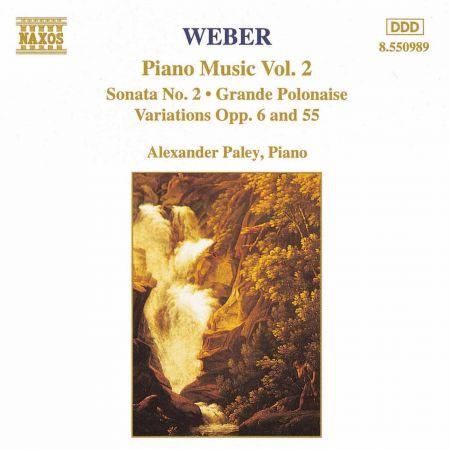 Weber: Piano Music, Vol. 2 - CD