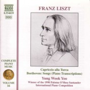 Liszt:  Beethoven Song Transcriptions - CD