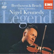 Nigel Kennedy: Beethoven & Bruch: Violin Concertos - CD