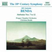 Benda, J. A.: Sinfonias Nos. 7-12 - CD