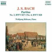 Wolfgang Rübsam: J.S. Bach: Partitas No.3, 4 - CD