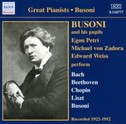 Busoni And His Pupils (1922-1952) - CD