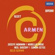 Mirella Freni, Maîtrise de Radio France, Jessye Norman, Orchestre National de France, Seiji Ozawa, Neil Shicoff: Bizet: Carmen - CD