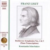 Liszt: Beethoven Symphonies Nos. 2 and 5 (Transcriptions) - CD