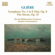 Gliere:  Symphony No. 1 / The Sirens - CD