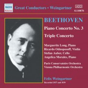 Beethoven: Piano Concerto No. 3 / Triple Concerto (Weingartner) (1937-1939) - CD