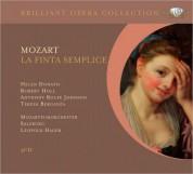 Helen Donath, Robert Holl, Anthony Rolfe Johnson, Teresa Berganza, Mozarteum Orchester Salzburg, Leopold Hager: Mozart: La Finta Semplice - CD