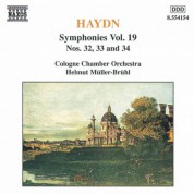 Haydn: Symphonies, Vol. 19 (Nos. 32, 33, 34) - CD