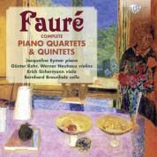Jacqueline Eymar, Günter Kehr, Werner Neuhaus, Erich Sichermann, Bernhard Braunholz: Fauré: Complete Piano Quartets & Quintets - CD