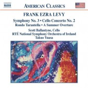 Takuo Yuasa: Levy: Cello Concerto - Symphony No. 3 - A Summer Overture - CD