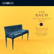 Miklós Spányi: C.P.E. Bach: Solo Keyboad Music, Vol. 17 - CD