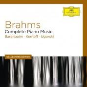 Alfons & Aloys Kontarsky, Anatol Ugorski, Daniel Barenboim, Peter Planyavsky, Tamás Vásáry, Wilhelm Kempff: Brahms: Complete Piano Music - CD