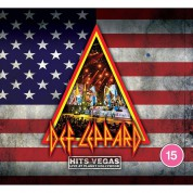Def Leppard: Hits Vegas: Live At Planet Hollywood (Transparent Blue Vinyl) - Plak