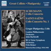 Gregor Piatigorsky: Piatigorsky, Gregor: Concertos and Encores (1934-1950) - CD