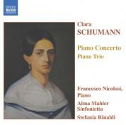 Schumann, C.: Piano Concerto in A Minor / Piano Trio in G Minor - CD