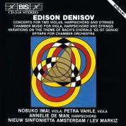 Nobuko Imai, Petra Vahles, Annelie de Man, Nieuw Sinfonietta Amsterdam, Lev Markiz: Denisov: Concertos - CD
