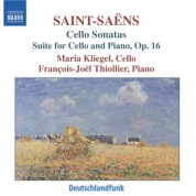 Maria Kliegel: Saint-Saens: Cello Sonatas Nos. 1 and 2 / Cello Suite - CD