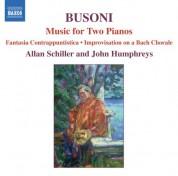 Allan Schiller: Busoni: Music for 2 Pianos - CD