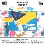 Jackie Allen: Allen, Jackie: Which? - CD