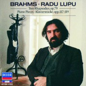 Radu Lupu: Brahms: Piano Pieces, Opp.117-119 - CD