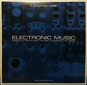 Çeşitli Sanatçılar: Electronic Music... It Started Here (Grey Vinyl) - Plak