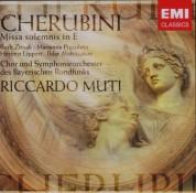 Chor des Bayerischen Rundfunks, Symphonieorchester des Bayerischen Rundfunks, Riccardo Muti: Cherubini: Missa solemnis in E - CD