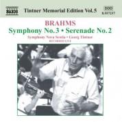 Georg Tintner: Brahms: Symphony No. 3 / Serenade No. 2 - CD