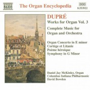 Dupre: Works for Organ, Vol.  3 - CD