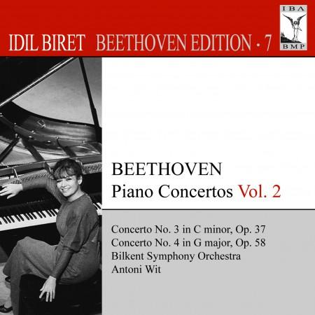 İdil Biret: Beethoven, L. Van: Piano Concertos, Vol. 2 (Biret) - Nos. 3, 4 - CD