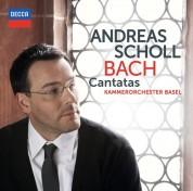 Andreas Scholl, Julia Schröder, Kammerorchester Basel: Bach, J.S.: Kantaten - CD