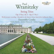 Ensemble Cordia: Wranitzky: String Trios, Op. 17 No. 1, Op. 3 Nos. 1 & 3 - CD
