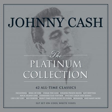 Johnny Cash: Platinum Collection (Coloured Vinyl) - Plak
