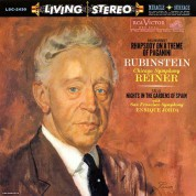 Rachmaninov: Rhapsody On A Theme Of Paganini/ Falla: Nights in the Gradens of Spain (200g-edition) - Plak