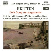 Britten: Folk Song Arrangements (English Song, Vol. 10) - CD
