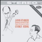 János Starker, György Sebök: Mendelssohn / Chopin: Cello Sonatas - Plak
