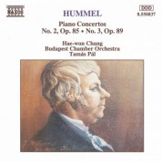 Hummel: Piano Concertos Nos. 2 and 3 - CD