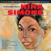 Nina Simone: Strange Fruit. Rare Recordings. Limited Edition In Solid Orange Colored Vinyl. - Plak