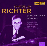 Sviatoslav Richter: Plays Schumann & Brahms - CD