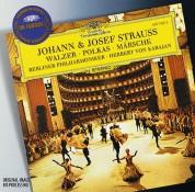 Berliner Philharmoniker, Herbert von Karajan: Strauss, Johann & Josef: Waltzes - CD