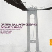 David Greilsammer plays Tansman, Boulanger & Gershwin - CD