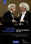 Joaquín Achúcarro, Berliner Philharmoniker, Sir Simon Rattle: Falla: Nights in the Gardens of Spain/ Piano Recital: Joaquin Achucarro (Teatro Real, 2010) - DVD