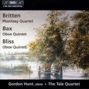 Gordon Hunt, The Tale Quartet: British Oboe Quartets - CD