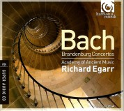 Academy of Ancient Music, Richard Egarr: J.S. Bach: Brandenburg Concertos - SACD