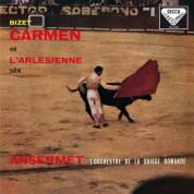 Orchestre de la Suisse Romande, Ernest Ansermet: Bizet: Carmen and L'Arlésienne Suites - Plak