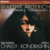 Martha Argerich, Kirill Kondrashin, Radio Symphonie Orchester Berlin, Riccardo Chailly, Symphonieorchester des Bayerischen Rundfunks: Rachmaninov/ Tchaikovsky: Piano Concertos - CD