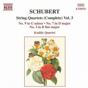 Schubert: String Quartets (Complete), Vol. 3 - CD