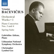 Gabrielius Alekna: Bacevicius: Orchestral Works, 1 - CD