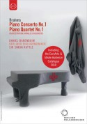 Daniel Barenboim, Berliner Philharmoniker: Europakonzert 2004 - Brahms: Piano Concerto No. 1 / Piano Quartet No. 1 (with EuroArts/Ideale-Audience Catalogue 2010) - DVD