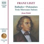 Liszt: 2 Ballades / 2 Polonaises / 3 Morceaux Suisses - CD