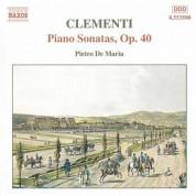 Clementi: Piano Sonatas, Op. 40 - CD